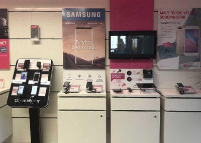 T-Mobile Vysoké mýto / interiér